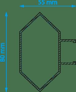 Kuusiosäle - illustrerad profil